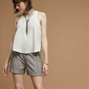 Anthropologie Hei Hei Marnie linen blend shorts
